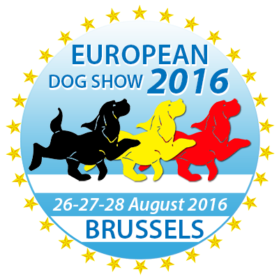 Logo european dog show 2016